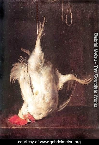 Gabriel Metsu - The Dead Cockerel