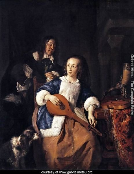 The Cittern Player 1660