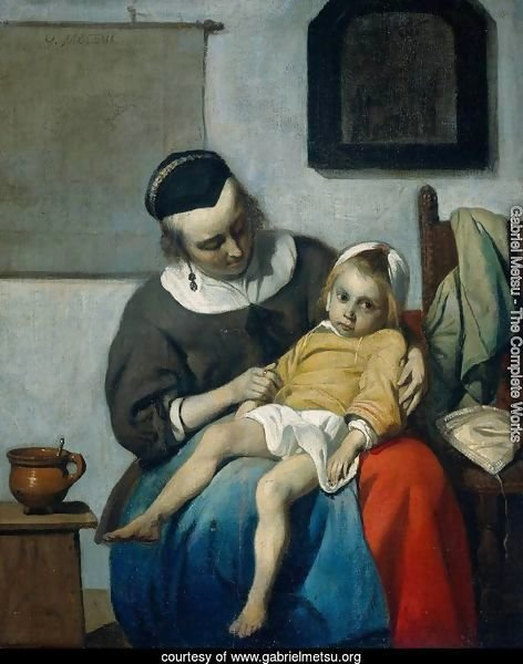 The Sick Child c. 1660