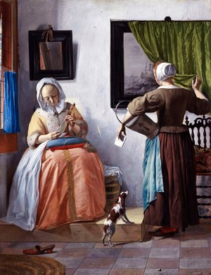 Gabriel Metsu - Woman Reading a Letter 1662-65