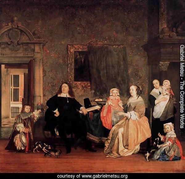 Burgomaster Gillis Valckenier and his Family 1675
