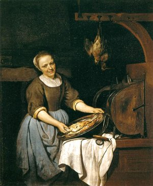 Gabriel Metsu - The Cook 1657-67