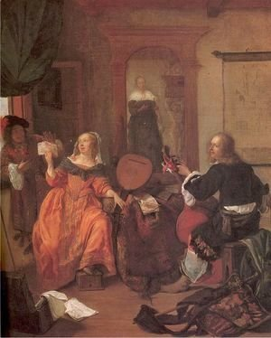 Gabriel Metsu - The Music Party 1659