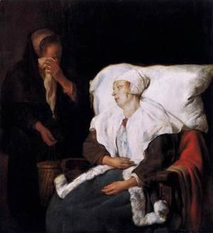 Gabriel Metsu - The Sick Girl 1658-59