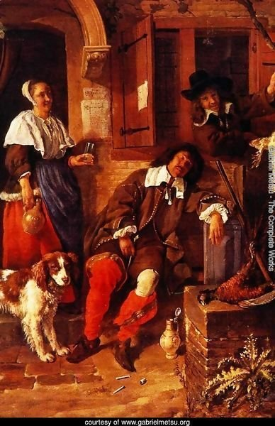 The Sleeping Sportsman 1657-59